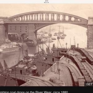 Sunderland coal loading set up