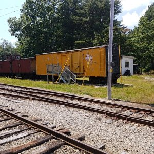 The Milwaukee Road Boxcar