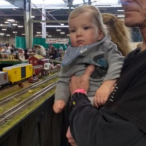 Williams first Train show